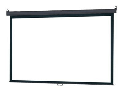 InFocus Manual Pull-Down Projection Screen, Matte White, 4:3, 84