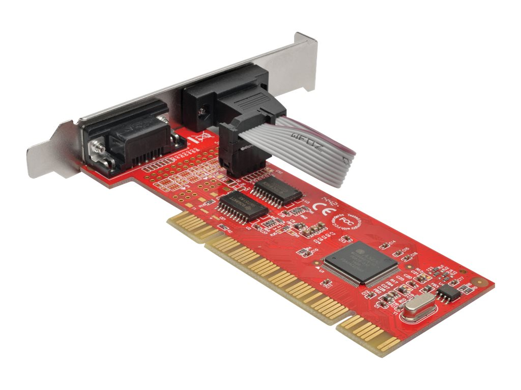Tripp Lite 2-Port DB9 Serial PCI Express Full Profile Card with 16550 UART, PCI-D9-02