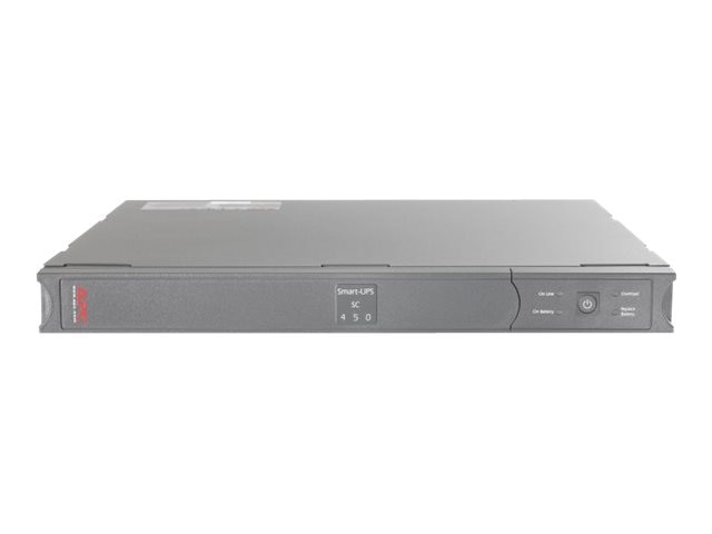 APC Smart-UPS SC 450 with Network Management Card, SC450R1X542
