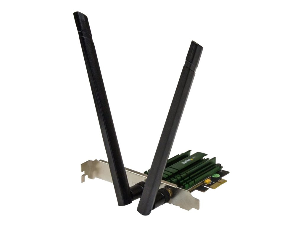 StarTech.com 2.4 5GHZ PCIE Wireless-AC Card AC1200 Adapter, PEX867WAC22, 17719370, Wireless Adapters & NICs
