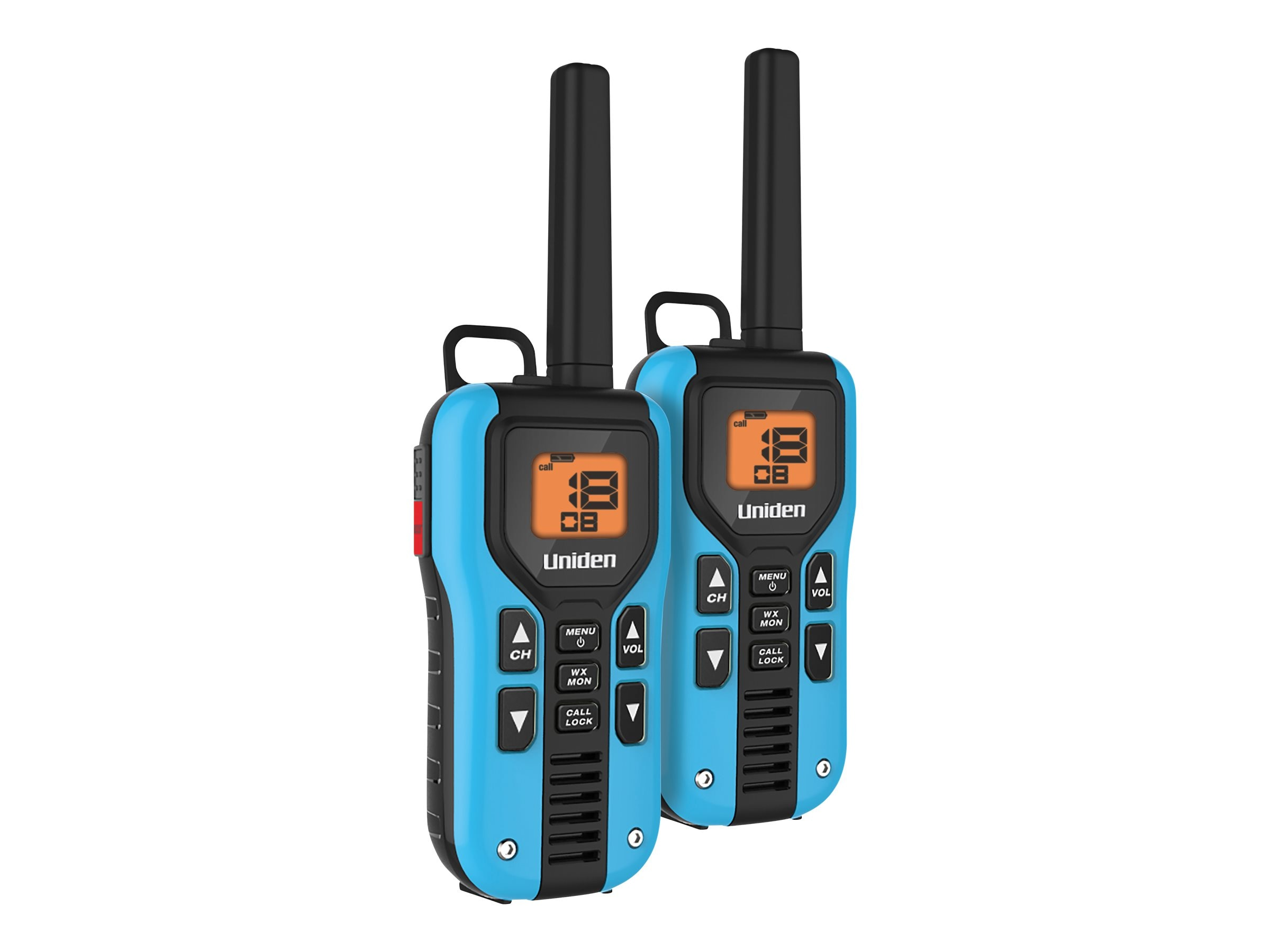 Uniden GMRS FRS 40-Mile Radio w  Privacy Codes, Weather Alerts & Headsets, GMR4055-2CKHS