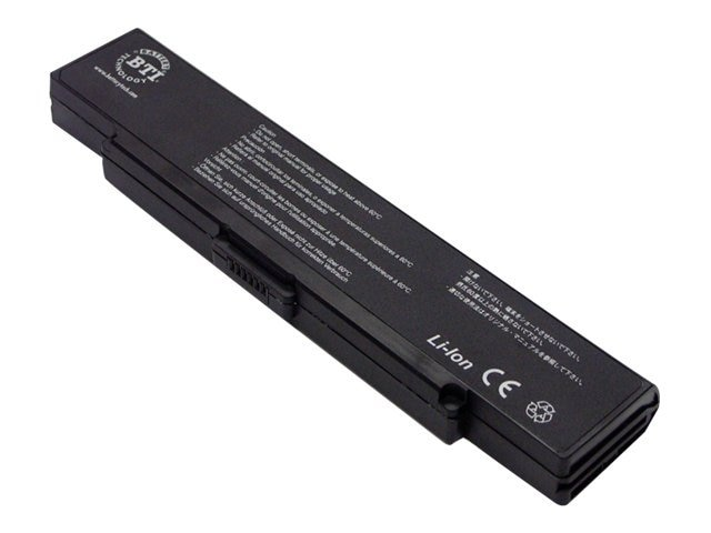 BTI Premium Li-Ion 5200mAh 11.1V 6-cell Laptop Battery for Sony Vaio, SY-S