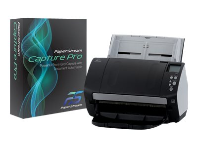 Fujitsu FI-7160 Deluxe PS Capture Pro Color Duplex 60ppm 120ipm PSIP USB3.0