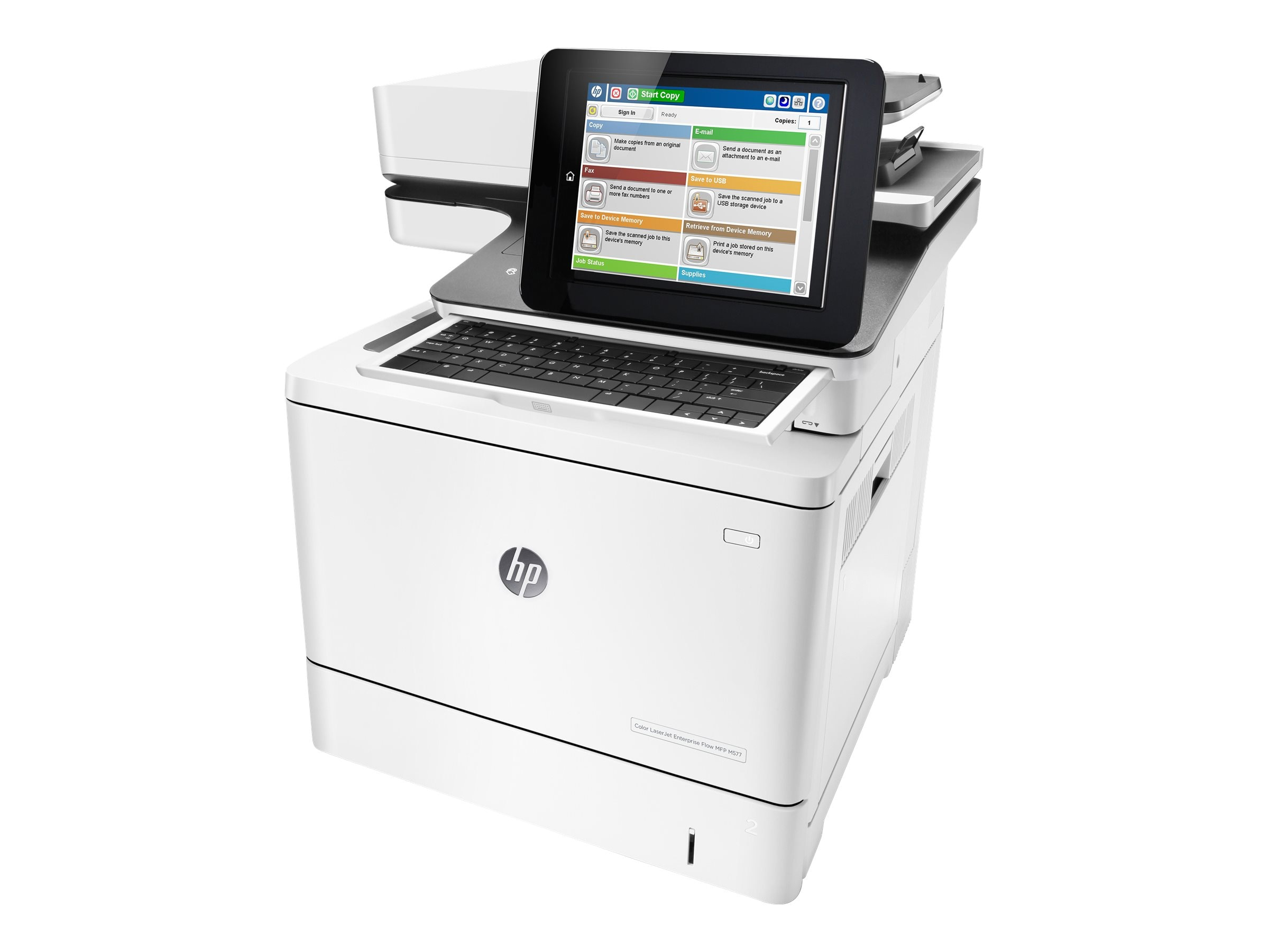 HP Color LaserJet Enterprise Flow MFP M577z, B5L48A#BGJ