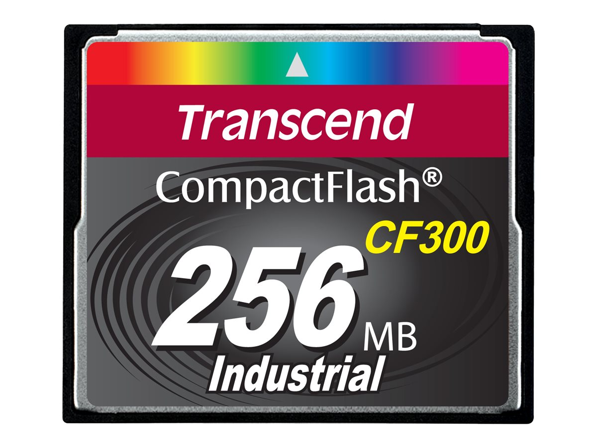 Transcend 256MB 300x Compact Flash Card, TS256MCF300, 31634971, Memory - Flash