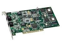 Dialogic TruFax 200-R PCI 2 Channel Loop Start Half Size Universal