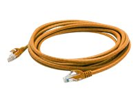 ACP-EP CAT6A UTP Snagless Patch Cable, Orange, 1ft