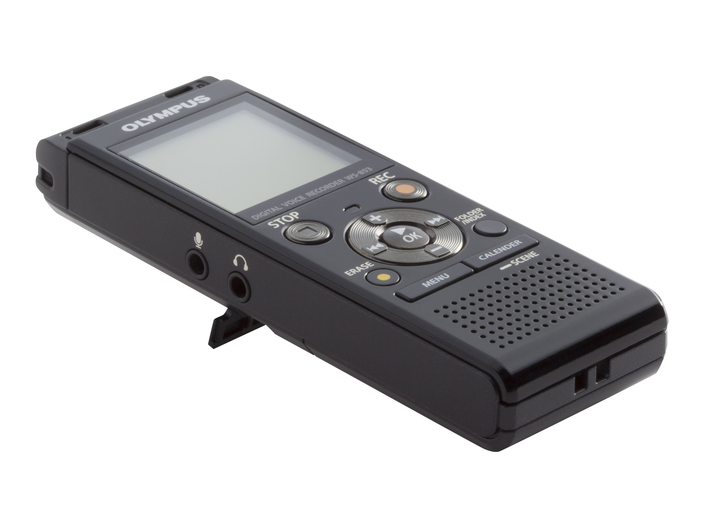 Olympus WS-853 8GB Digital Voice Recorder - 8 GBmicroSD                         Card Supported - MP3, V415131BU000