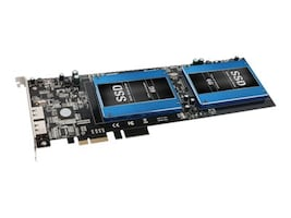 Sonnet Tempo SSD Pro Plus PCIe 2.0 Card for Dual 2.5 SSDs with two eSATA Ports, TSATA6-SSDPS-E2, 17589317, Controller Cards & I/O Boards