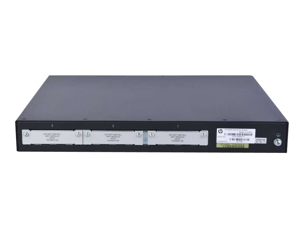 HPE MSR1002-4 AC Router Perp, JG875A#ABA