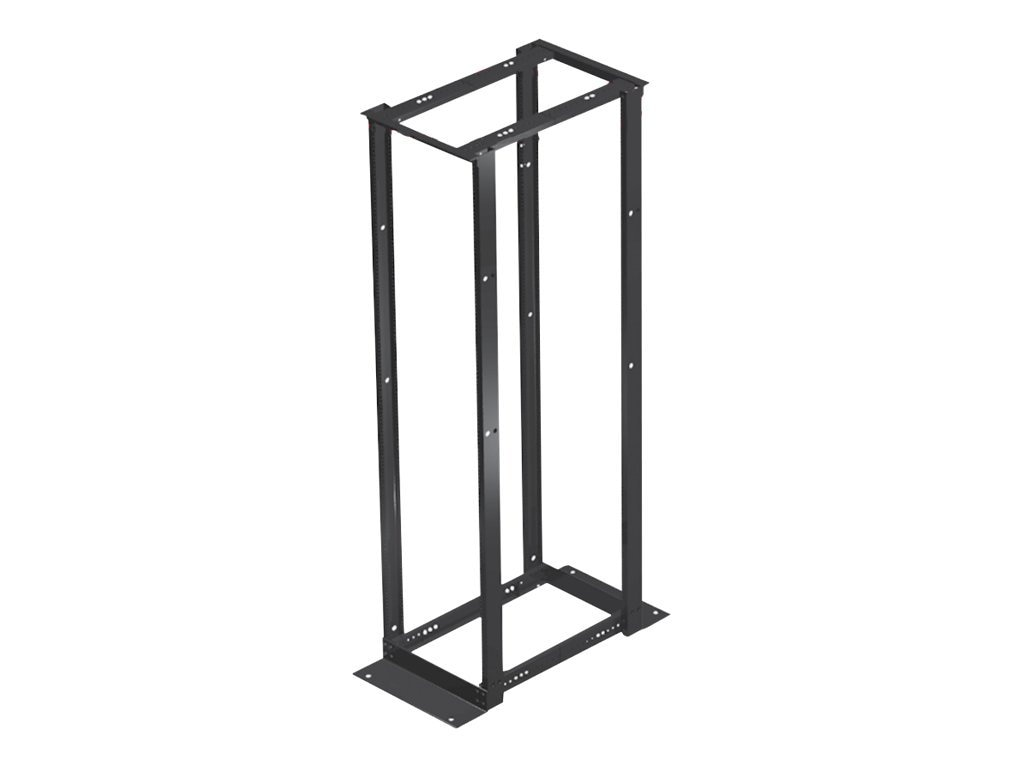 Hoffman 4 Post Rack, Sq. H, 19 x 45U, E4DRS19FM45U, 16229580, Rack Mount Accessories