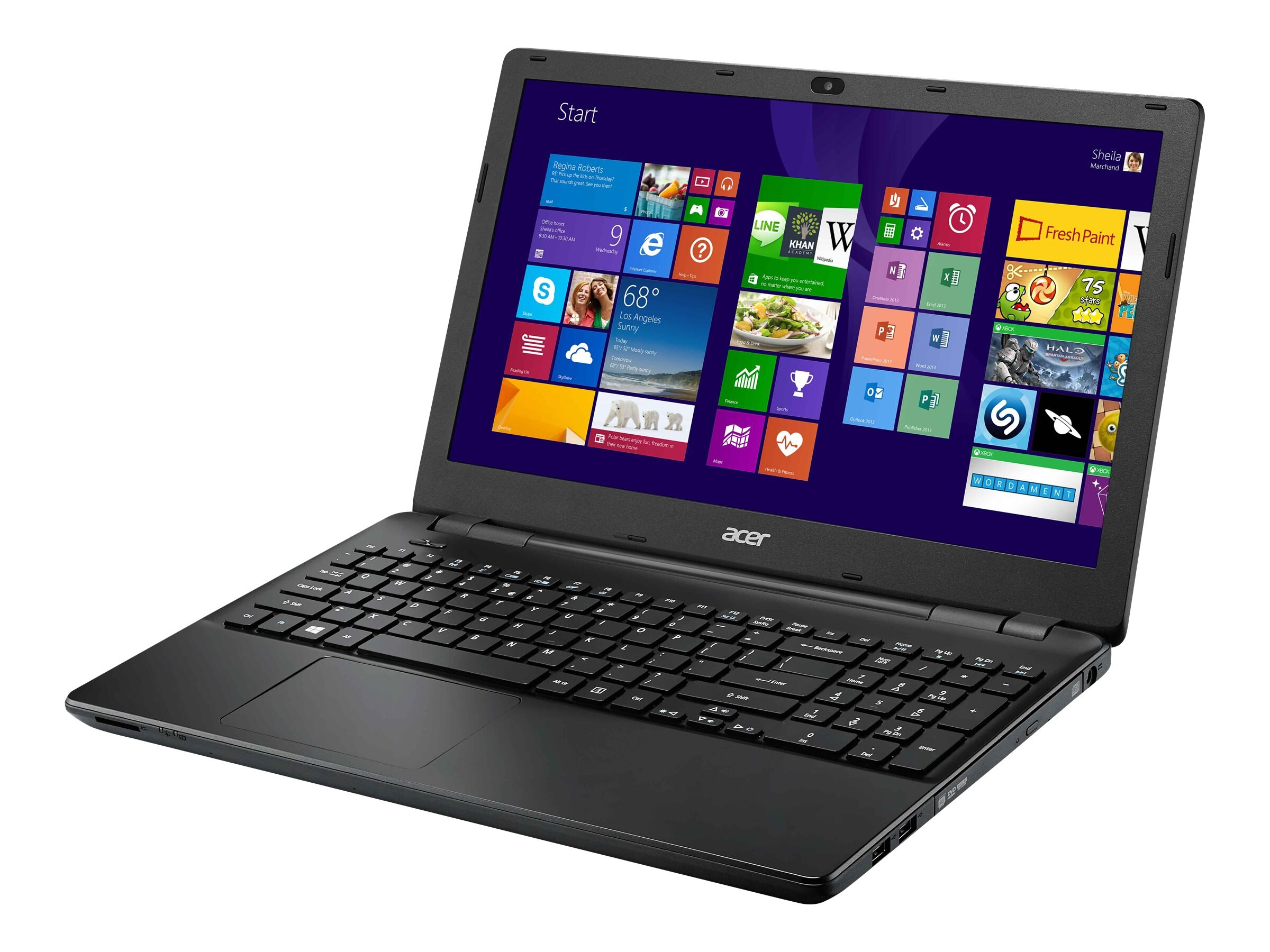 Acer TravelMate P256-M-P8YQ : 1.7GHz Pentium 15.6in display, NX.V9MAA.007, 18151384, Notebooks