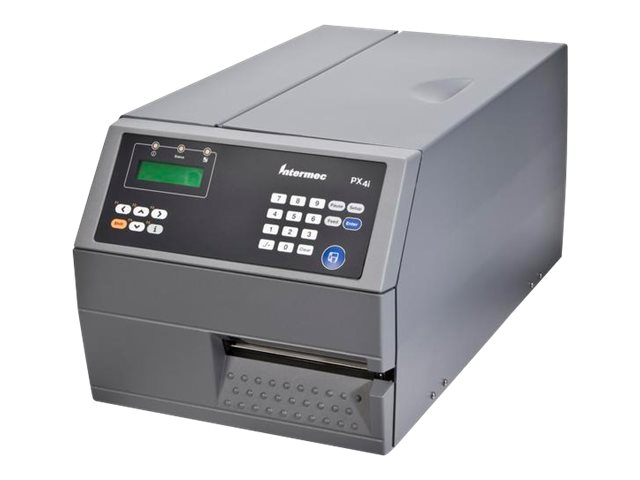 Intermec PX4I TT DT 400dpi 32 16MB Ethernet Parallel Serial USB IPL 2.X LCD Self Strip Printer, PX4C011000005040