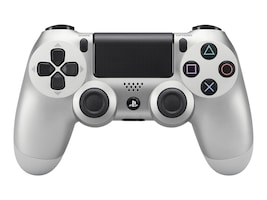 Sony DualShock4 Ctrlr Silver PS4, 3001541, 33106848, Computer Gaming Accessories