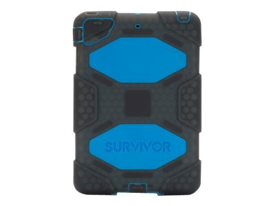 Griffin Survivor Case for iPad mini 1 2 3, Smoke Blue, GB39775, 18532187, Carrying Cases - Tablets & eReaders