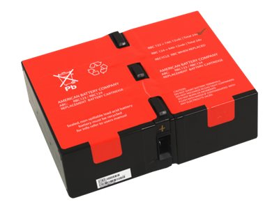 American Battery Replacement Battery Cartridge #124, RBC124, 30757776, Batteries - Other