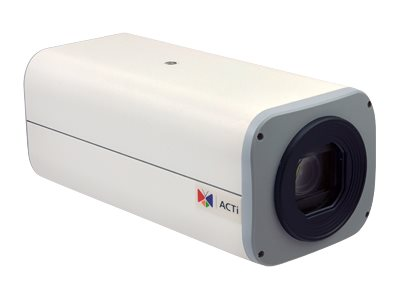 Acti 2MP Zoom Box with D N, Extreme WDR, ELLS, 30x Zoom lens, I25