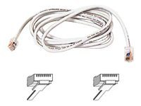 Belkin CAT5E UTP Patch Cable, White, 16ft