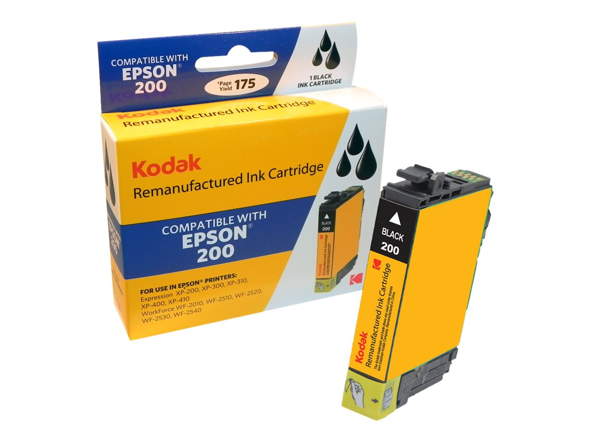 Kodak XP200 Black Ink Cartridge for Epson, T200120-KD