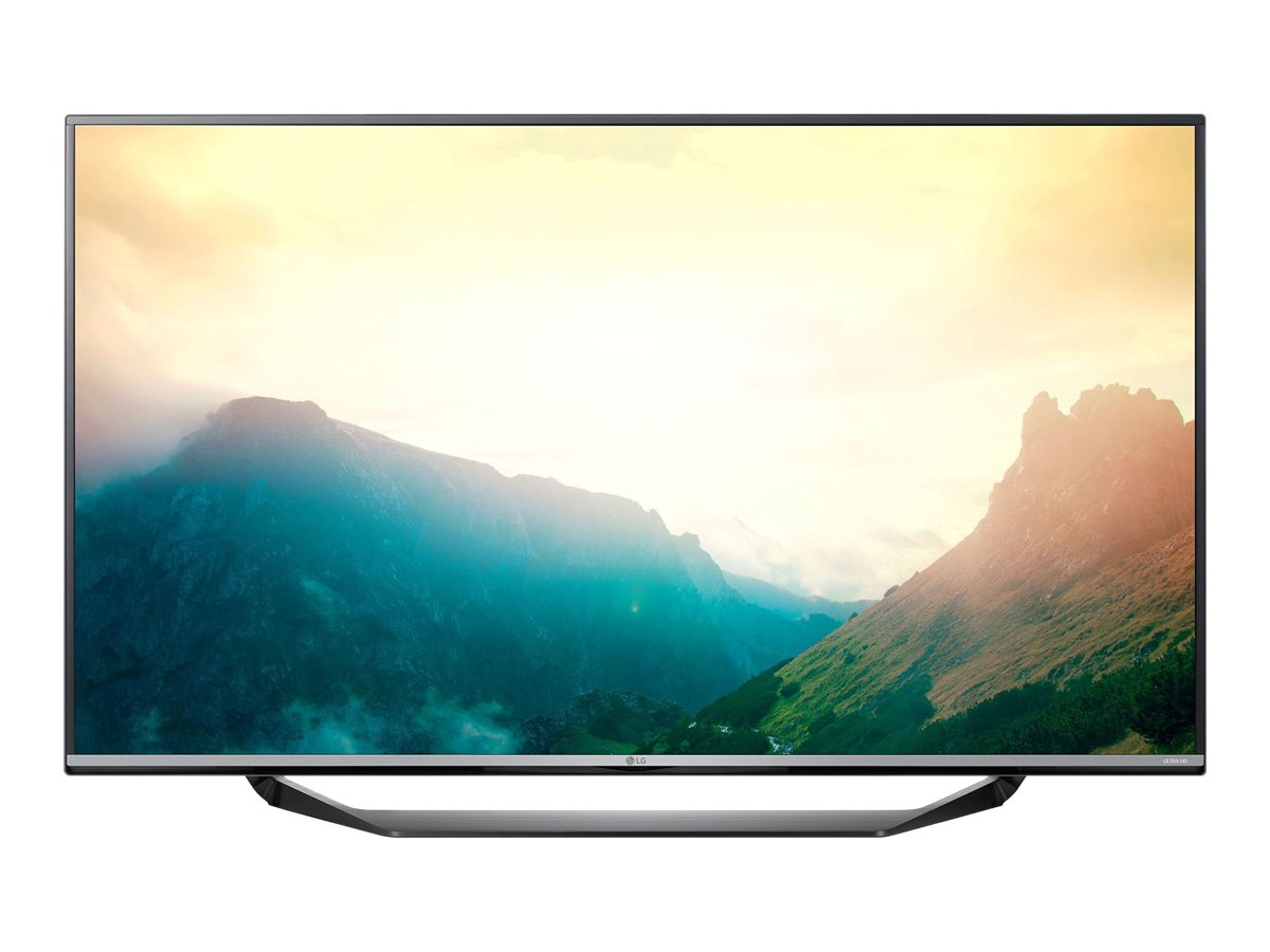 LG 65 4K UHD LED-LCD Commercial TV, Black, 65UX340C