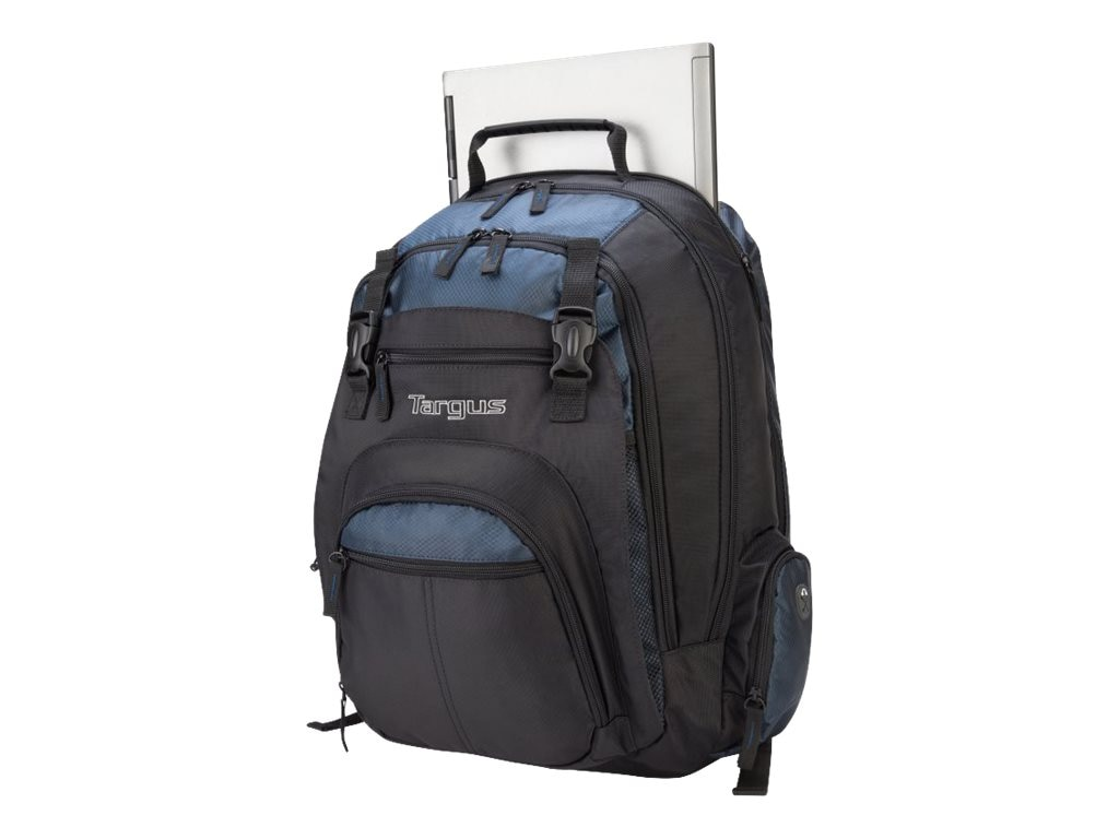 Targus 17 XL Notebook Backpack, Black Blue