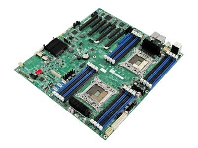 Intel Motherboard, Crown Pass, 16xDIMM, Dual NIC