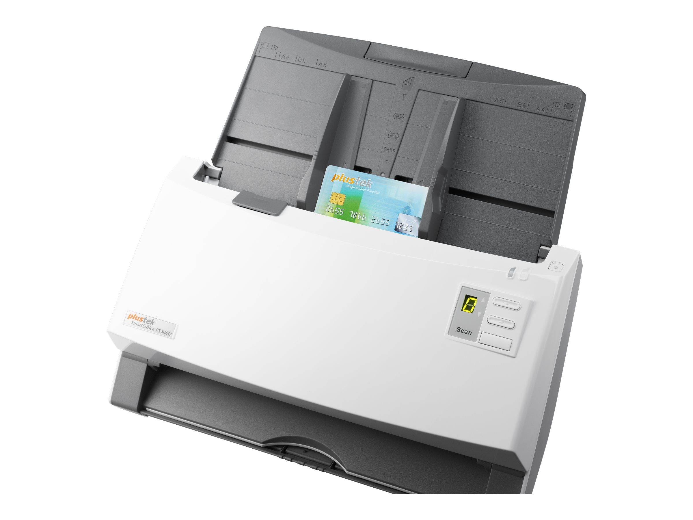 Plustek PS456U-G Color Duplex 80ppm 160ipm w  100-Sheet ADF, TAA