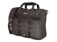 Mobile Edge ScanFast Briefcase, Holds 15.4 Laptop, Black, MESFBC, 8896382, Carrying Cases - Notebook