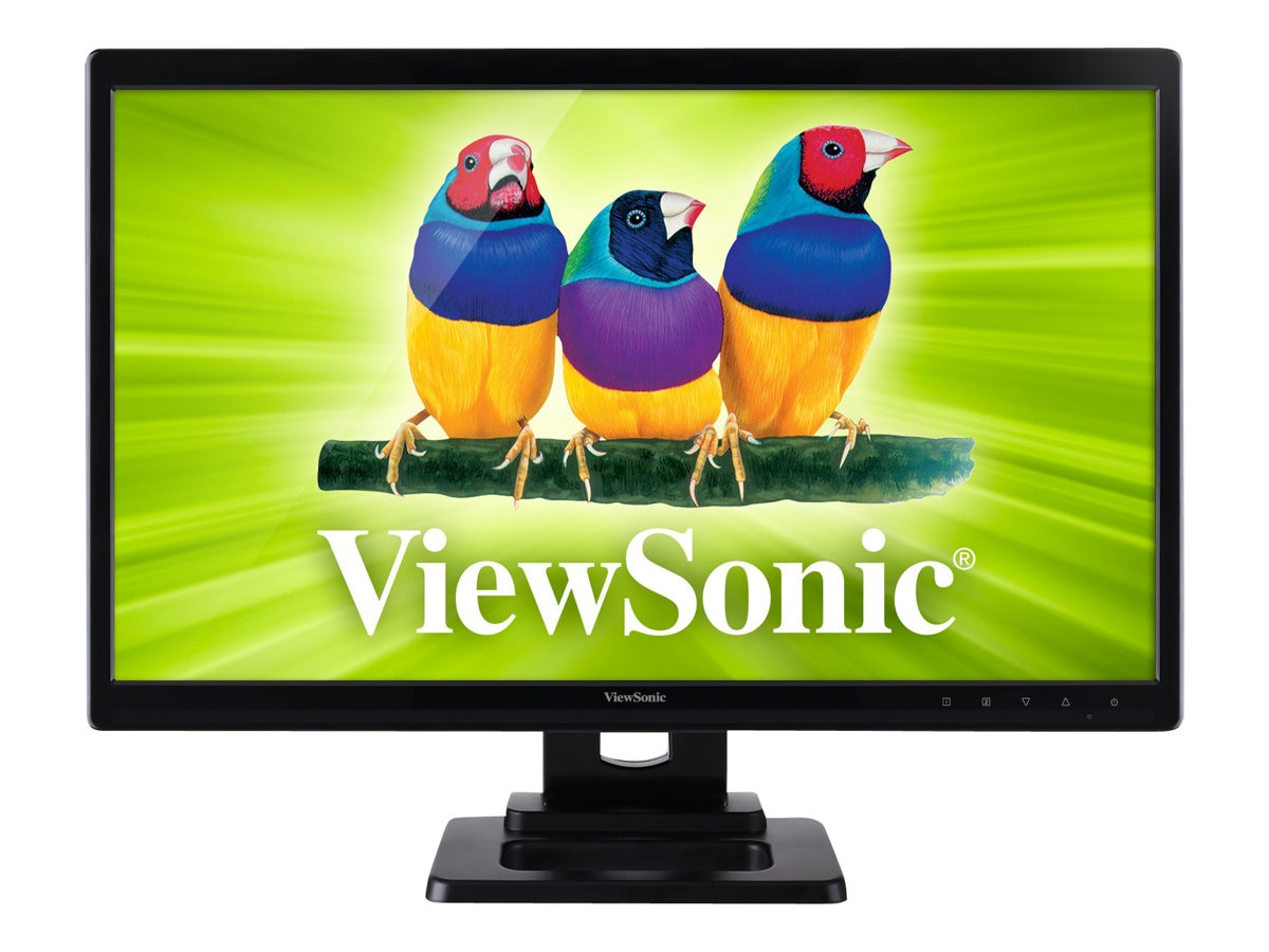 Open Box ViewSonic 24 TD2420 Full HD LED-LCD Monitor, Black, TD2420, 31878174, Monitors - LED-LCD