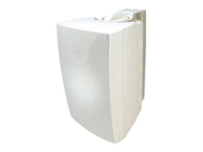 Speco Outdoor Speaker Pair, White, 6.5