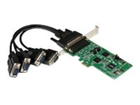 StarTech.com 4-Port PCI Express PCIe Serial Combo Card, PEX4S232485