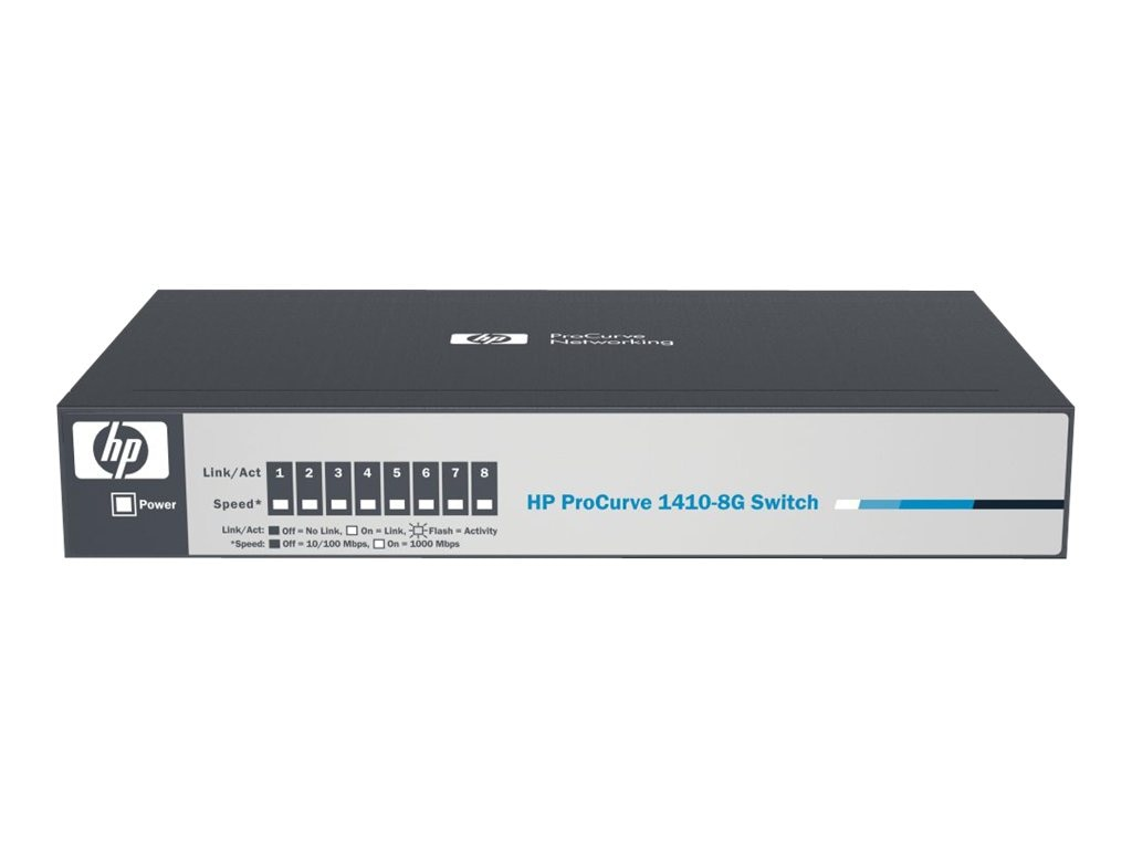 HPE 1410 8G Switch, J9559A#ABA