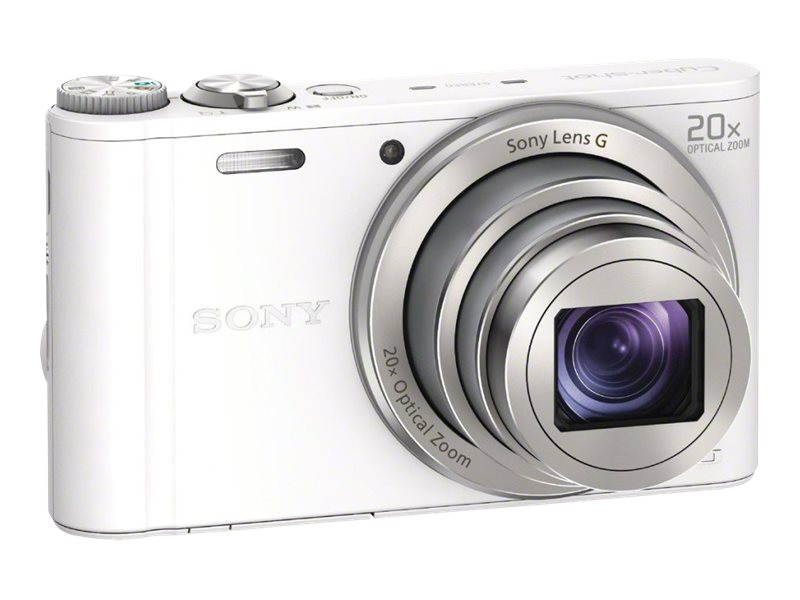 Sony DSC-WX300 Camera - White, DSCWX300/W