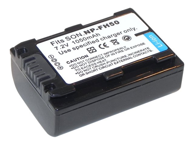 Ereplacements Battery for Sony Camera, NP-FH50-ER