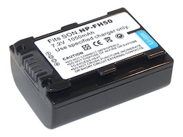 Ereplacements Battery for Sony Camera, NP-FH50-ER, 13230315, Batteries - Camera