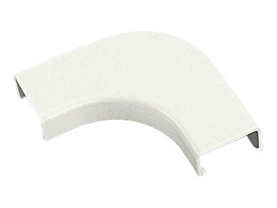 Panduit Raceway Nonmetallic Single LD5 1 Bend Radius right angle, light gray Pack of 10