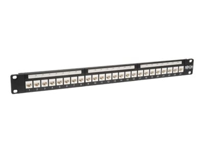 Tripp Lite Cat6 Cat5e Wallmounted Patch Panel, 24-Port, N250-024-LP, 14391997, Patch Panels