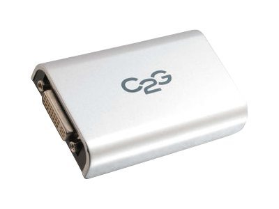 C2G USB 2.0 to DVI Adapter, 30546, 15026211, Adapters & Port Converters