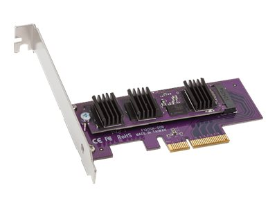 Sonnet 256GB PCIe 3.0 Low Profile Solid State Drive, PCIE-SSD1-02-E3, 31176210, Solid State Drives - Internal