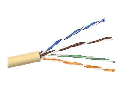 Belkin Cat5e Bulk Solid Yellow PVC Cable, 1000ft, A7L504-1000-YLW