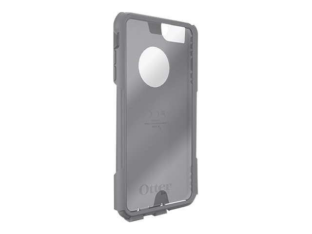 OtterBox Slip Cover w  Screen 2 Commuter Plus for iPhone 6 Plus, Gunmetal Gray, 78-50073, 22068743, Carrying Cases - Phones/PDAs