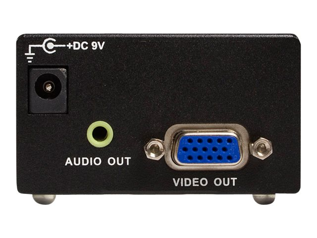 StarTech.com Component to VGA Video Converter with Audio, CPNT2VGAA