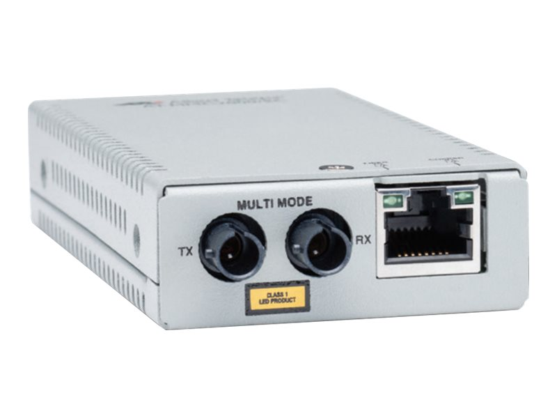 Allied Telesis 10 100 1000T TO 1000X SC Mini Media Converter  TAA, AT-MMC2000/SC-90, 20521591, Network Transceivers