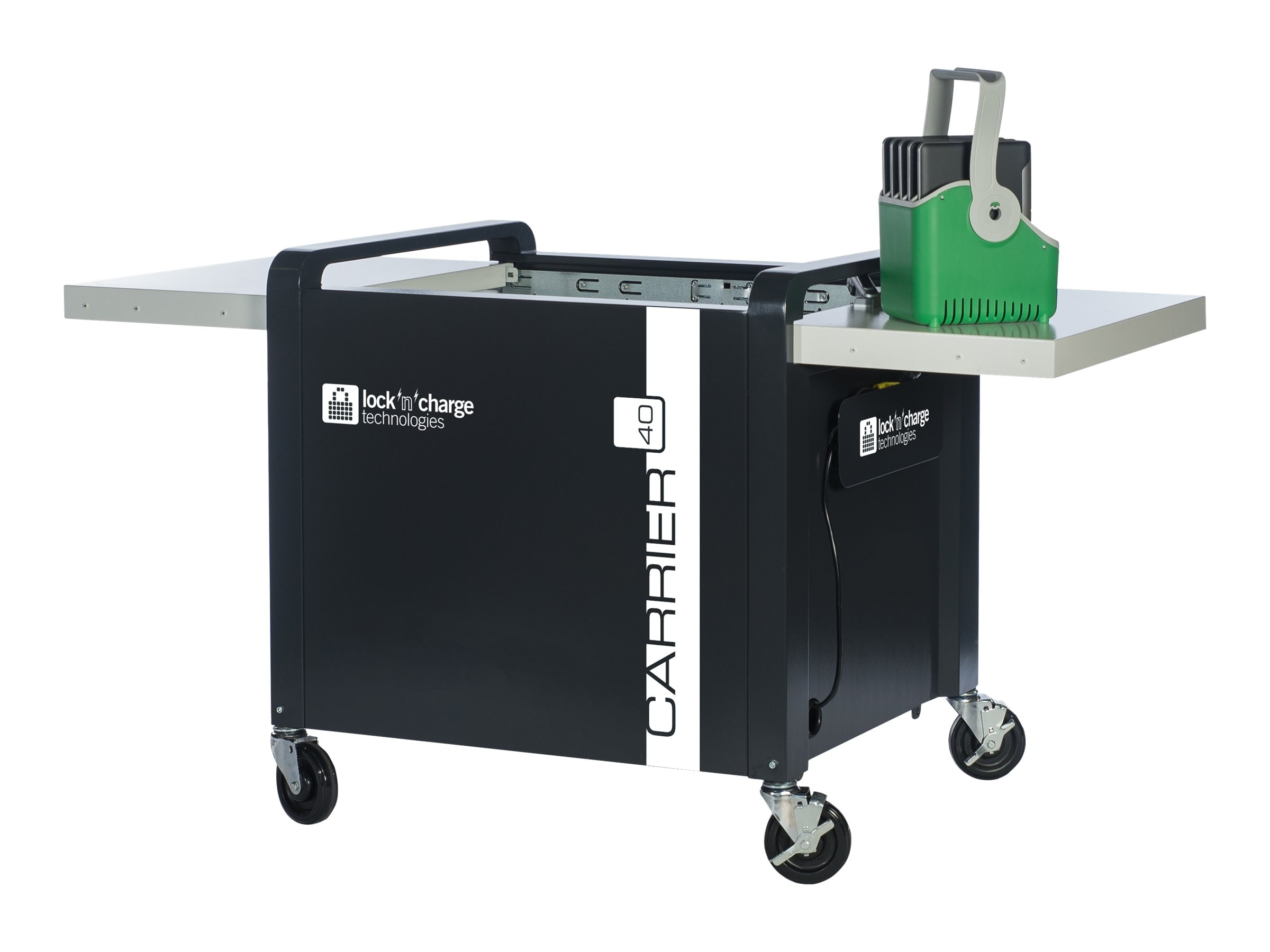 Lock N Charge Carrier 40 Cart, LNC8000, 17046371, Computer Carts