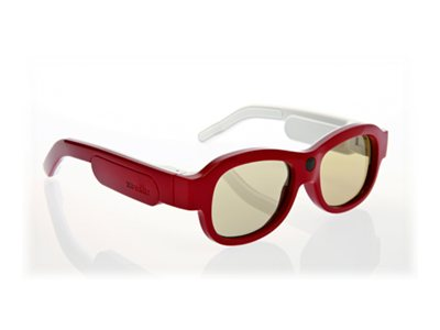 Xpand YOUniversal Small 3D Glasses, Red, X104SX1, 13923955, Monitor & Display Accessories