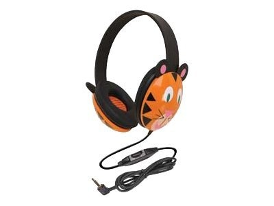 Global Marketing Partners Tiger Headphones, 2810-TI, 7424367, Headphones
