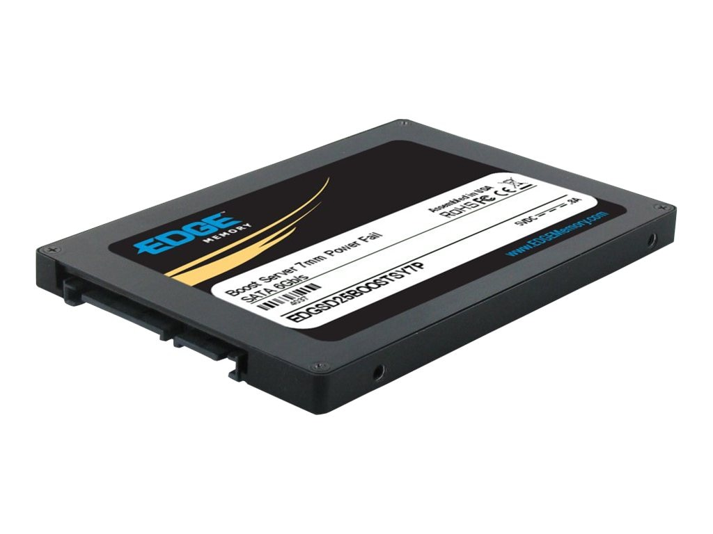 Edge 200GB Boost Server SATA 6Gb s 2.5 7mm Internal Solid State Drive, PE239718, 16493639, Solid State Drives - Internal