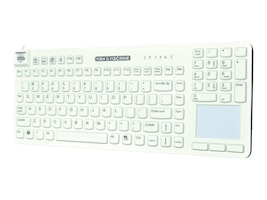 Man & Machine Reallycool Touch Magfix Keyboard, White, RCTLP/MAG/W5-LT, 27719331, Keyboards & Keypads