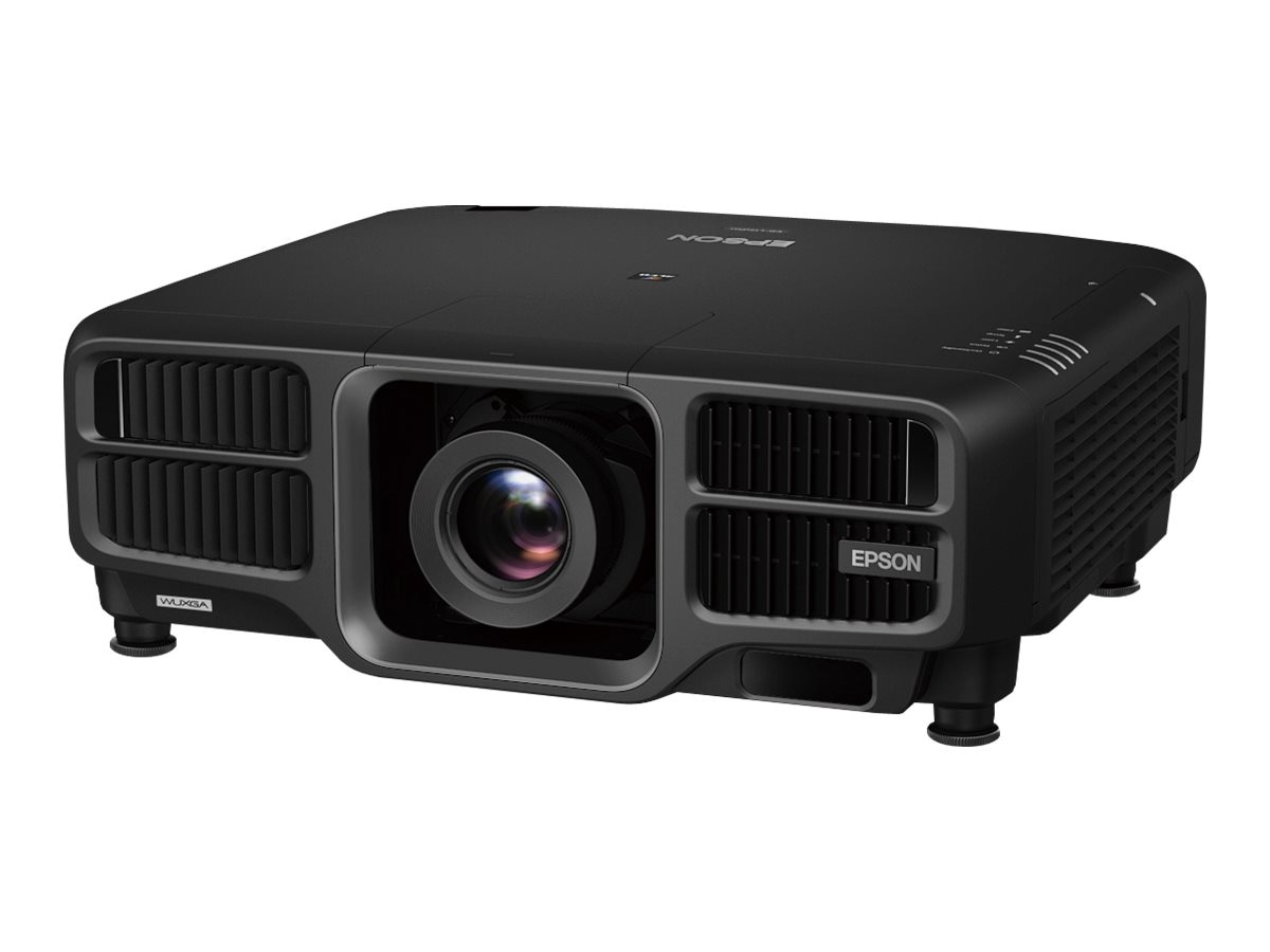Epson Pro L1505U Laser WUXGA 3LCD Projector with Standard Lens, 12000 Lumens, Black