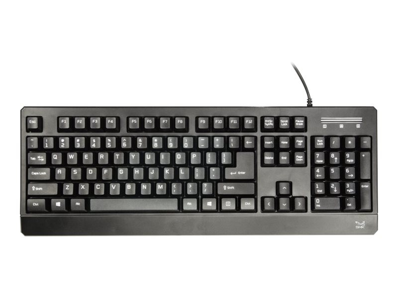 SMK Link Corded USB PC Keyboard 104-Keys, TAA-Compliant